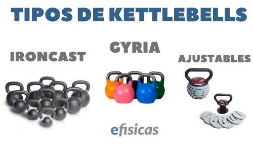 TIPOS DE KETTLEBELLS