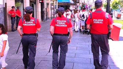 Pruebas físicas policia foral navarra